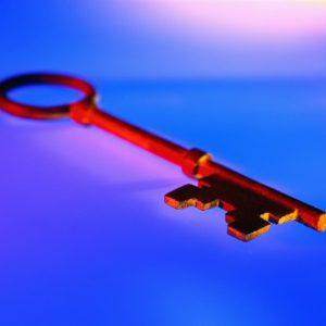 Close-up of a Key